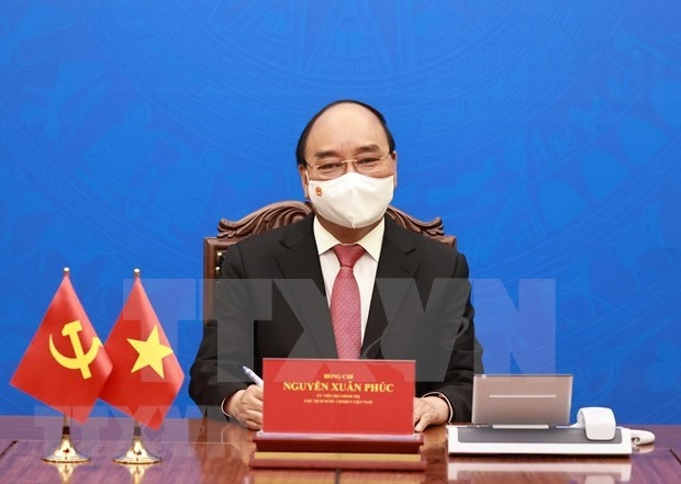 vietnamese president sends letter to us counterpart