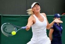 Sharapova surges into Wimbledon fourth round