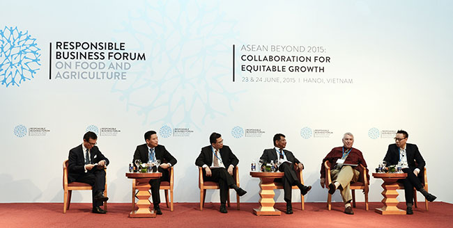 ASEAN businesses, governments should collaborate for sustainable agriculture