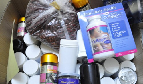 Fake Chinese dietary supplements, pharmaceuticals, cosmetics smuggled into Vietnam in bulk