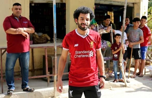 Salah's Iraqi lookalike dreams of football glory