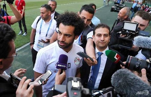 Salah misses Egypt's first training session in Russia
