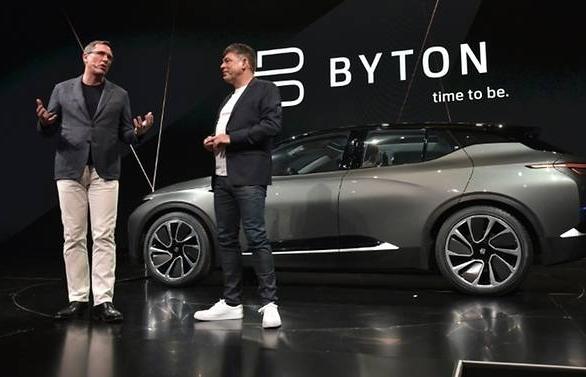 Chinese electric carmaker Byton raises US$500m to take on Tesla