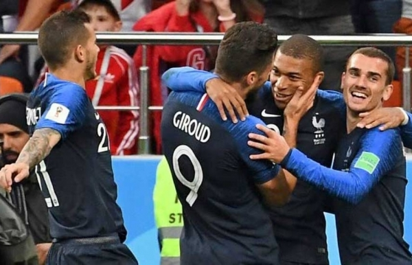 world cup mbappe makes history as france battle into last 16