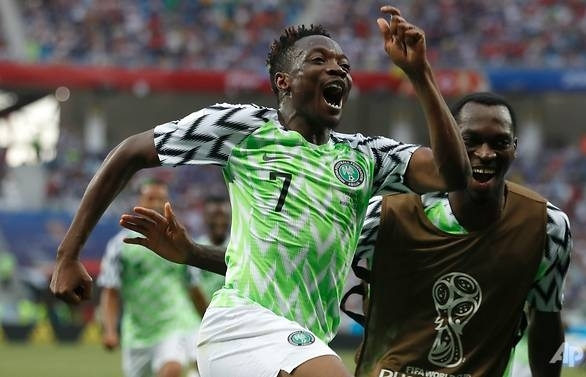 World Cup: Musa marks return with winning double as Nigeria beat Iceland