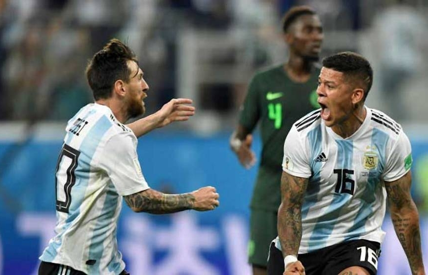 World Cup: Messi, Rojo rescue Argentina from humiliating early exit