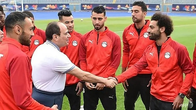 salah helps egypt to another africa cup warm up victory