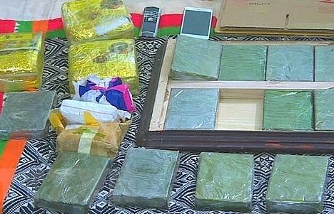 Lao Cai police arrests heroin traffickers