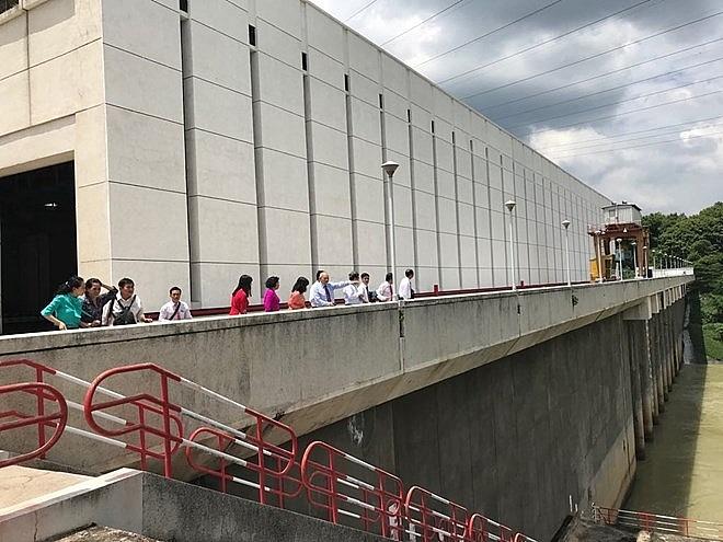 tri an hydropower plant landmark in vietnam russia friendship