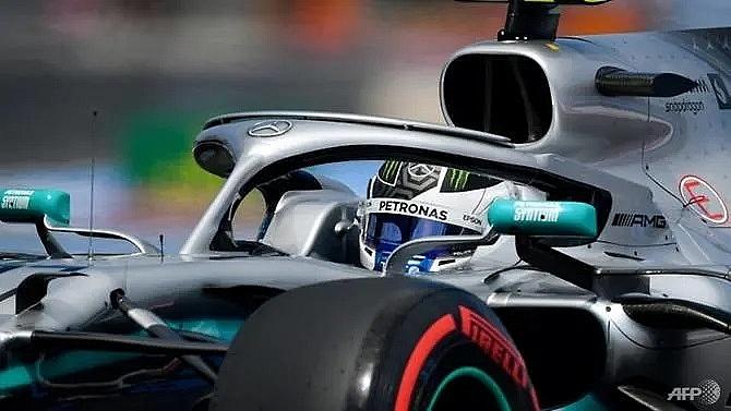 mercedes dominate french grand prix practice