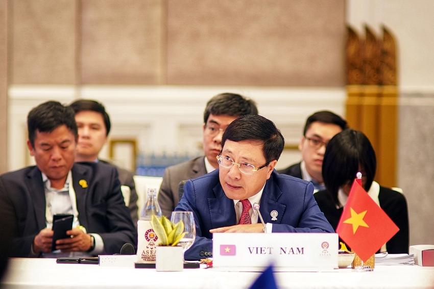 asean fms gather in bangkok ahead of regional summit