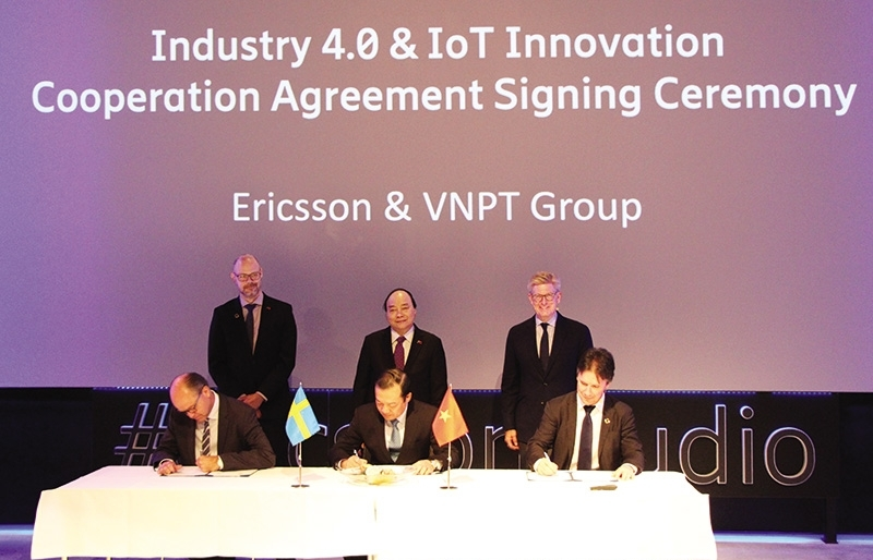 ericsson drives industry 40 in vietnam