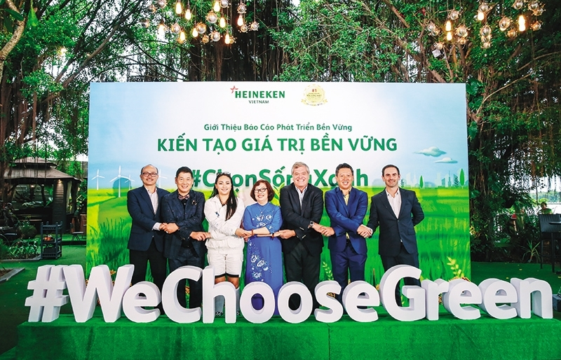 heineken walks the walk to show sustainable path