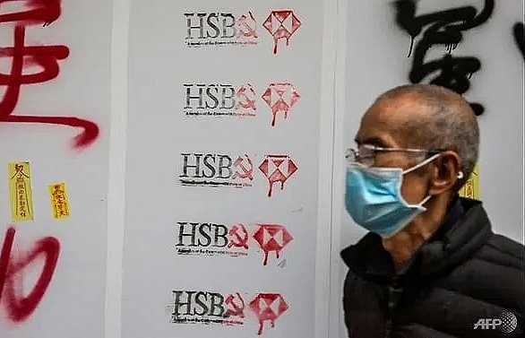 Pompeo criticises HSBC for supporting Hong Kong security law