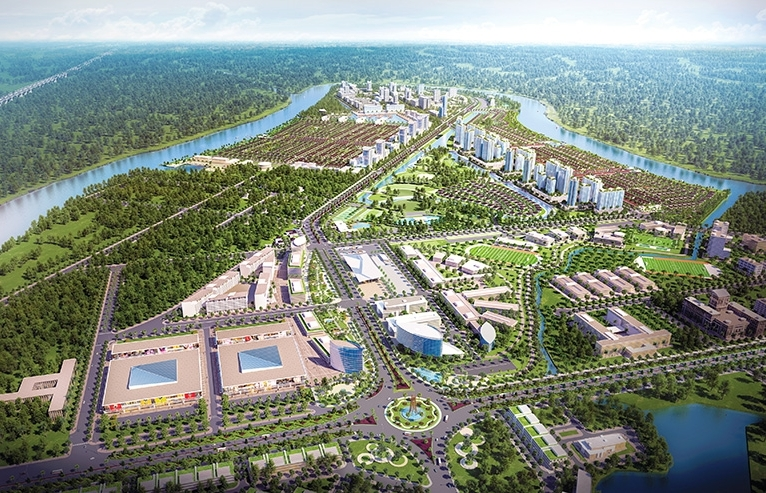 The Waterpoint a focal point in satellite township