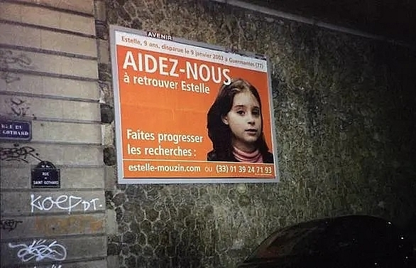 Search in France for 9-year-old girl, missing since 2003