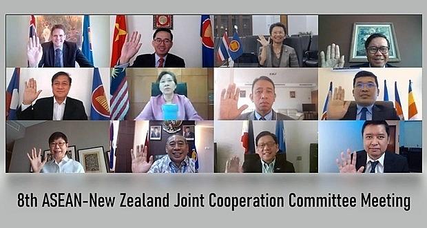 asean new zealand to reinforce strategic partnership