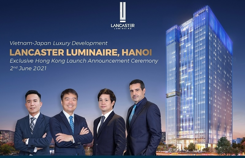 Lancaster Luminaire, Hanoi's Vietnam-Japan Luxury apartments launched in Hong Kong