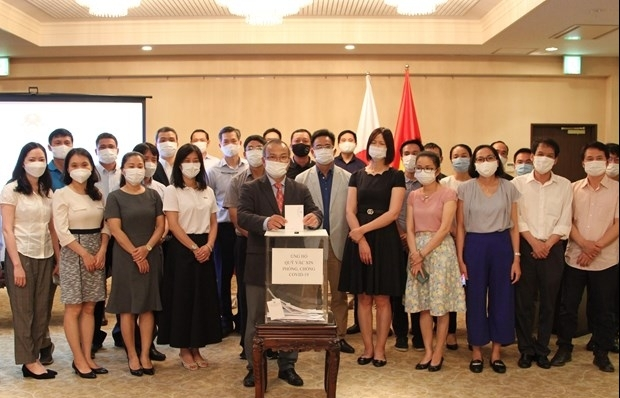Vietnamese expats in Japan launch fundraising campaign to help Vietnam's COVID-19 fight