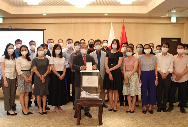 vietnamese expats in japan launch fundraising campaign to help vietnams covid 19 fight