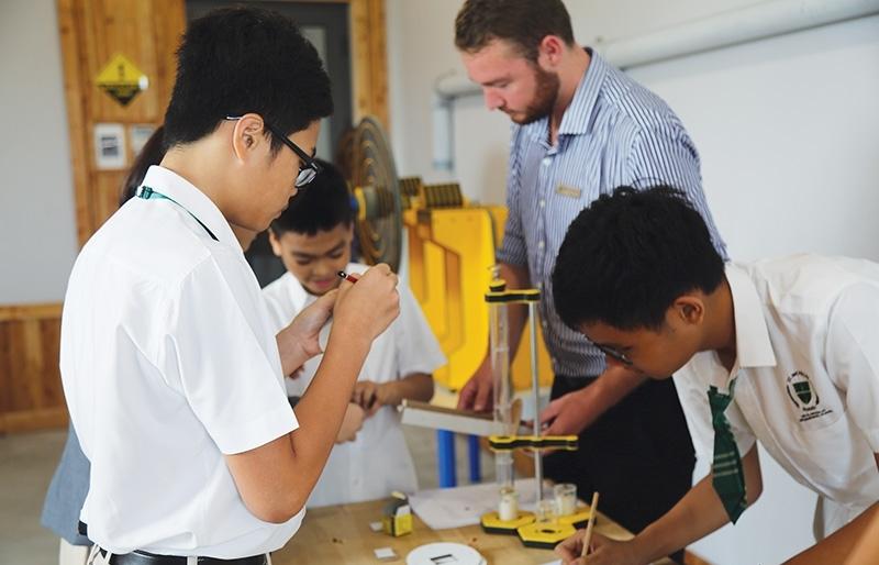 Global investors still enticed by education