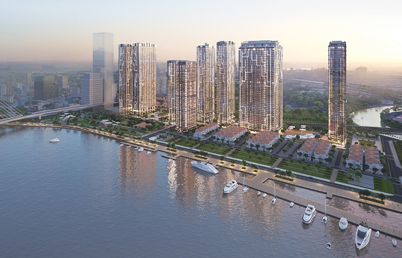Grand Marina, Saigon successfully establishes the sector of branded residences in Vietnam