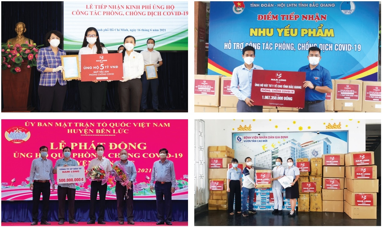 Nam Long Investment steps up pandemic support