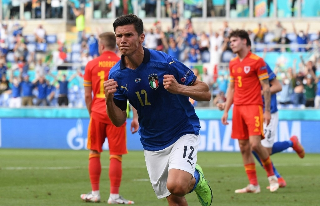 Italy ready for last 16 as Wales face Denmark at Euro 2020