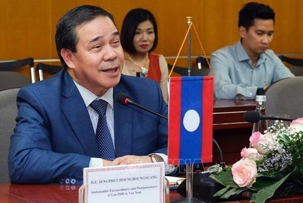 Top Lao leader's VN visit reaffirms stance in promoting bilateral relations