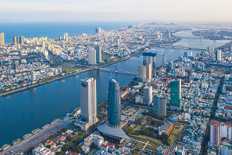 Danang is an economic growth driver for the central region, and has boomed in recent years