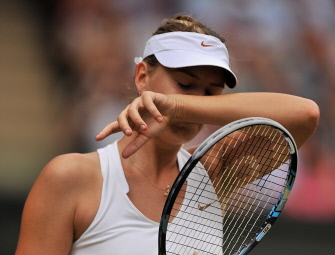 Defeated Sharapova takes step in right direction