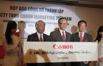 Canon establishes new sales agent in Vietnam