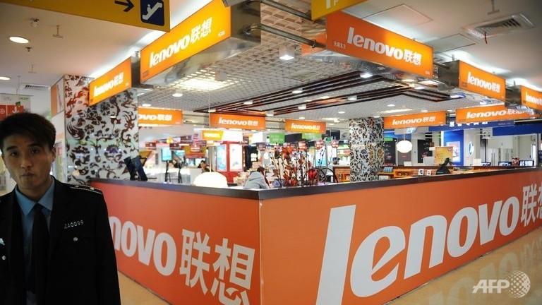 PC sales slide again, Lenovo takes top spot
