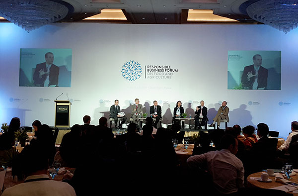 responsible business forum to outline future growth plans for food and agriculture sector in southeast asia