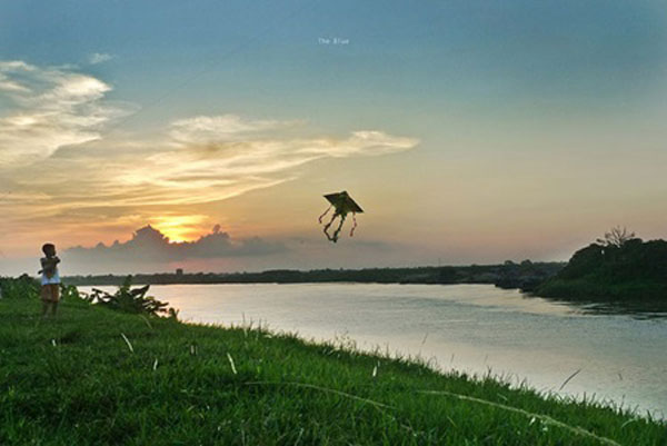 Duong River maintains its poetic beauty