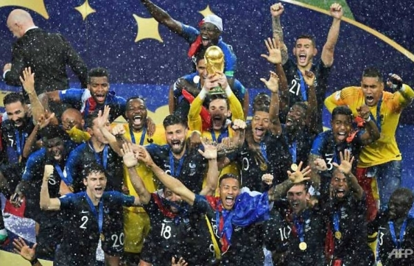France lift second World Cup after winning classic final                                1