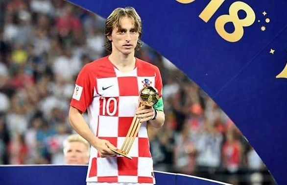 Modric says Golden Ball 'bittersweet' after defeat