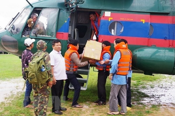 military region 5 asks units to join rescue efforts in laos