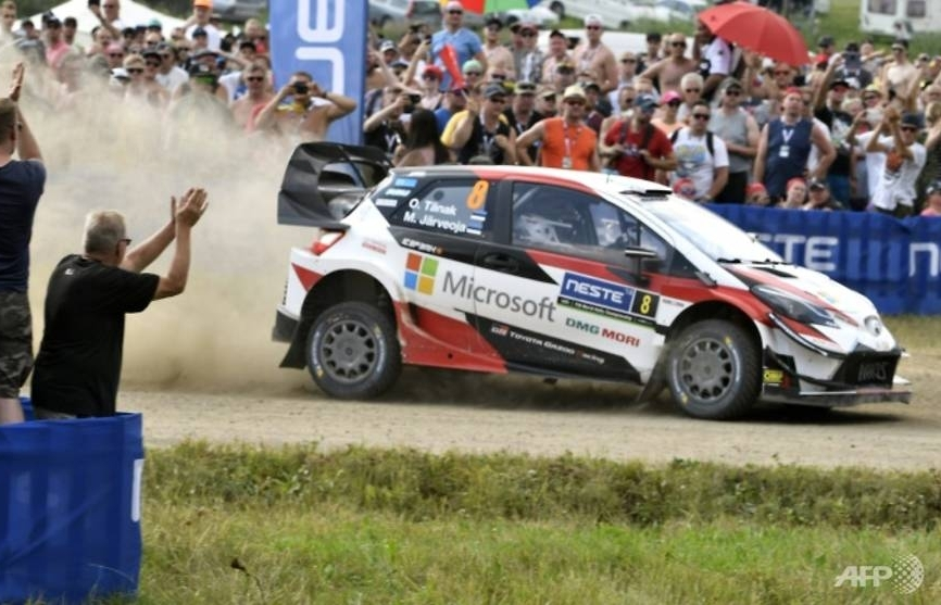 Tanak stays on course for Finland triumph as Ogier, Neuville struggle