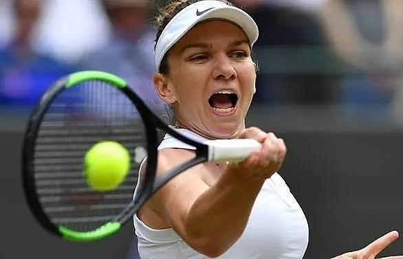 Halep into second Wimbledon semi-final