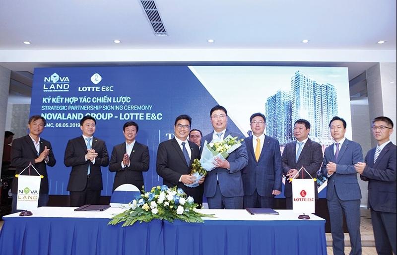 Lotte E&C creates high-end hallmark
