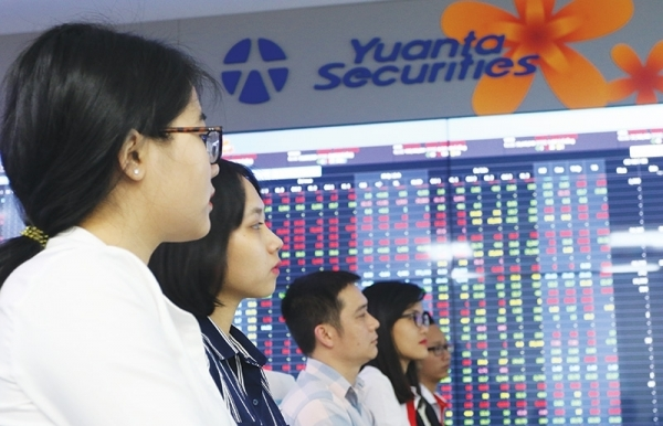 stock market gains taiwanese touch