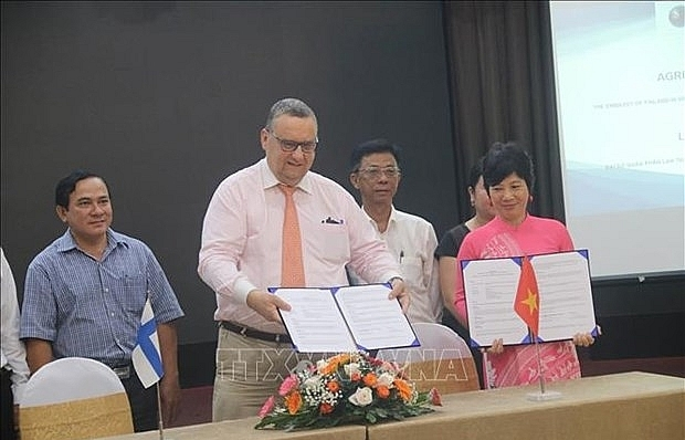 Finnish Embassy funds Mekong Delta climate change response