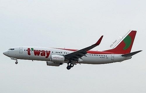 T'way Air to re-open HCM City - Incheon flights