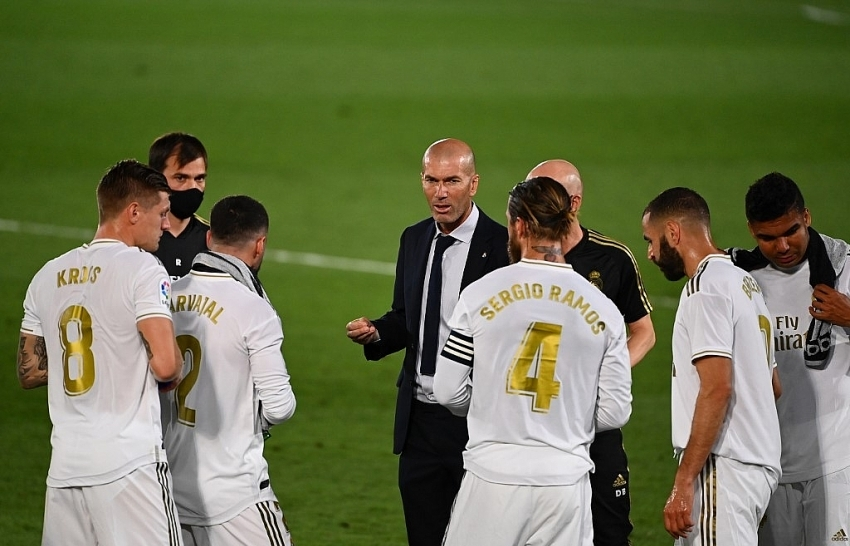 Real Madrid go four points clear after edging Getafe