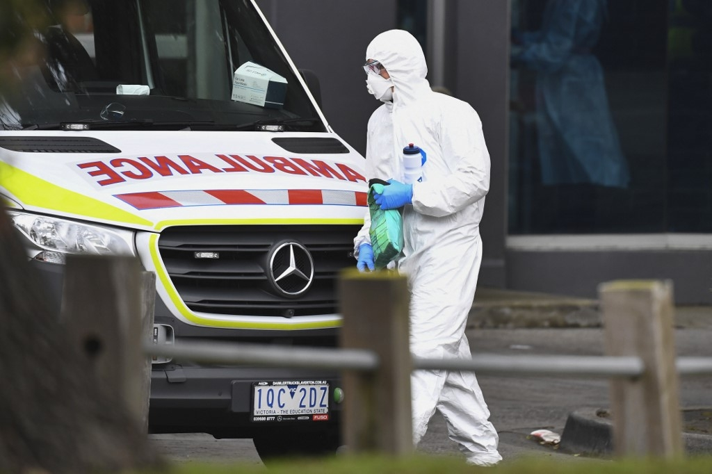 australias second biggest city under new virus lockdown
