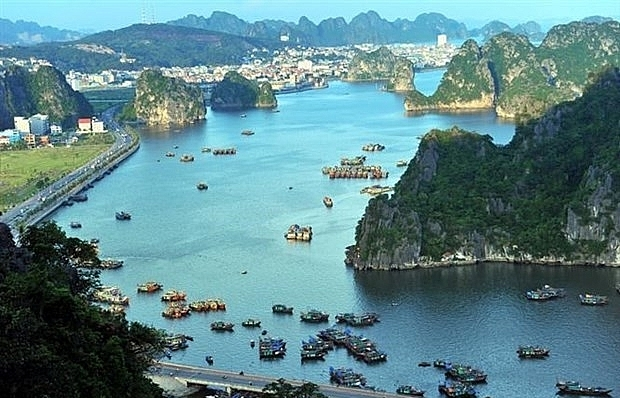 Ha Long Bay's entrance fees reinvested to help infrastructure