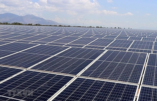 35mwp solar power farm opens in ninh thuan