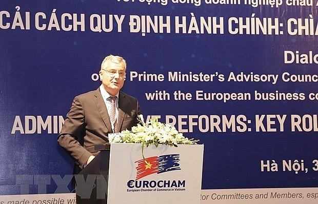 European firms more positive about Vietnam's business climate