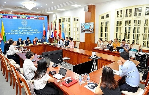 South East Asian Games Federation meets online